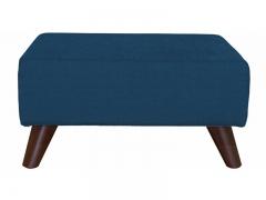 Пуф Эрика арт. ТП-225 темно-синий сапфировый